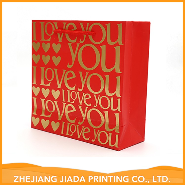 Competitive Price Printed Luxury Shopping 25Kg Paper Bag