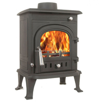 High-end Cast Iron Wood Burning Stove for sale