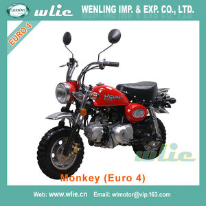 2018 New double front lamp minibike Monkey 50cc 125cc (Euro 4)