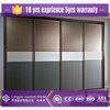 Modern design bedroom furniture wardrobe with sliding lacquer mdf board closet doors