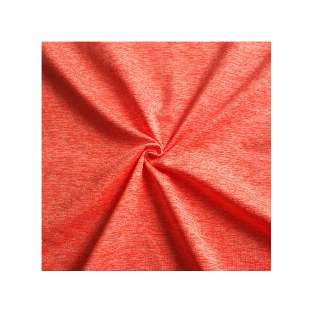 Groothandel Polyester Spandex Kation Geborsteld Jersey Stof Voor Nike T-shirts RTS-3154