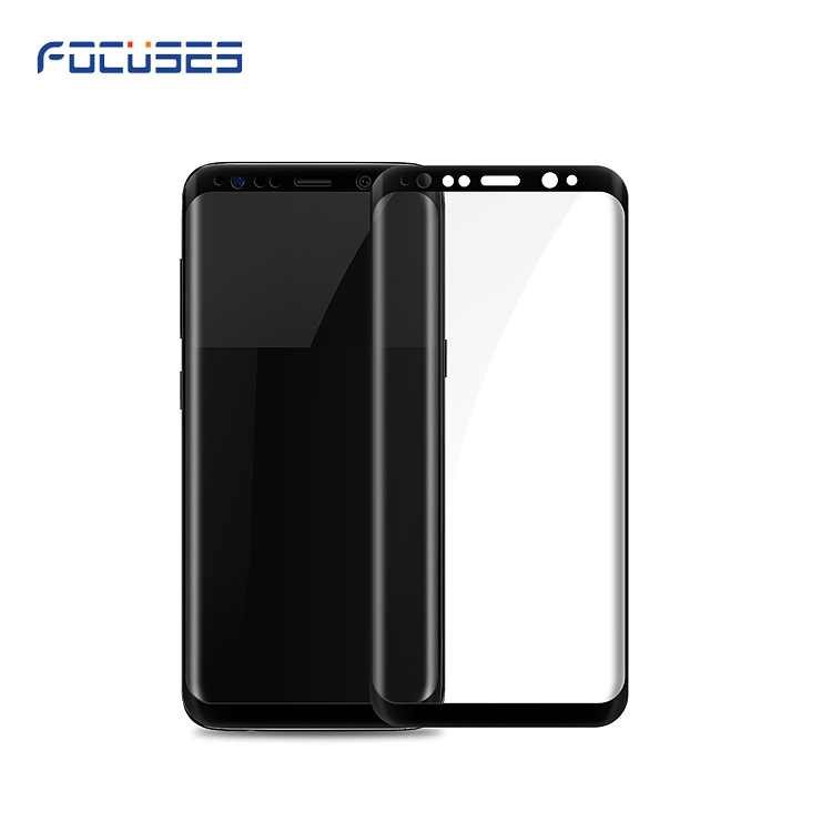 Alibaba most popular products!9H 3D curved edge to edge tempered glass screen protector for Galaxy S8