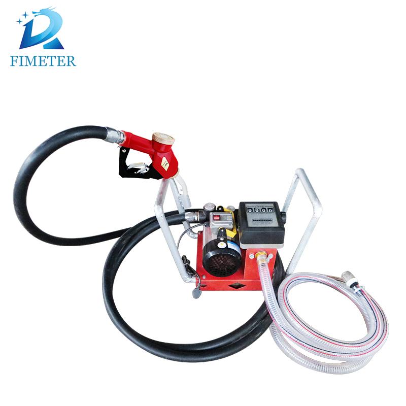 Mobile gasoline kerosene fuel dispenser petrol transfer pump