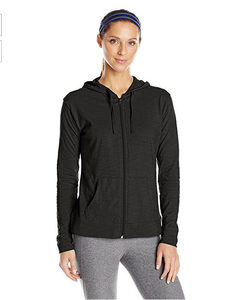 Byval Long sleeves zip up front pockets women hoodie