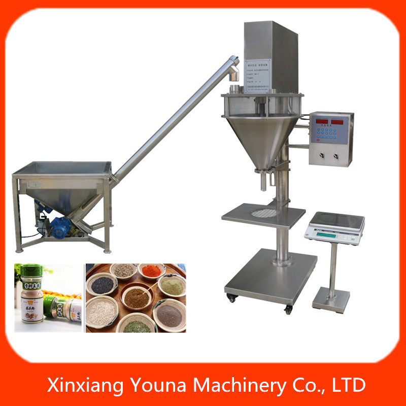 automatic flour powder filling packing machine with loader