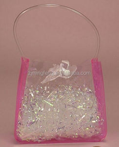 pvc bag/ comestic bag/ plastic pvc bag with zipper for kid's toy /cosmetic