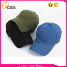 Custom Promotion Canvas 6 Panel Embroidered Baseball Hats