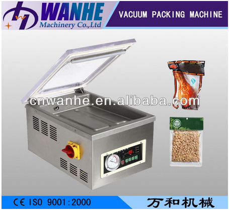 DZ 300 Automatic table CE nitroge vacuum packer sealing machine single chamber vacuum packing machine for food commercial