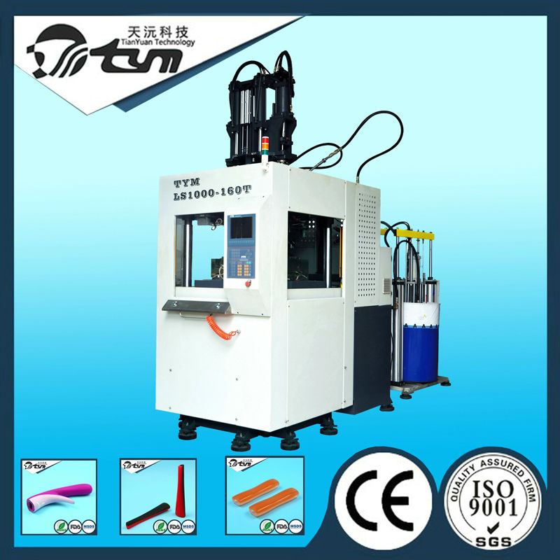 high quality rubber screw barrel injection silicone wristband machine