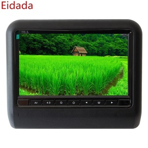 Factory Industry Sale Car Headrest Monitor with 9 inch Lcd Screen Support Connect DVD