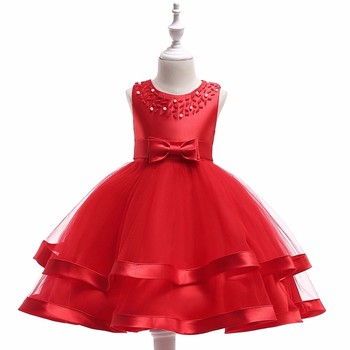 23c2752b3f966 Hot Sales Girl Party Wear Children Frocks Designs Baby Party Dress L5017