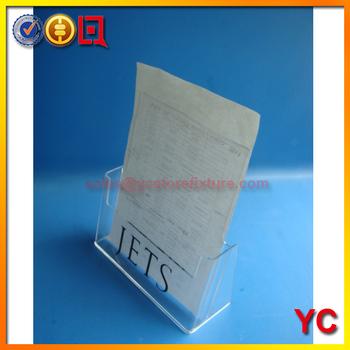 Tabletop Mini A4 Plexiglass Sign Display Box,Acrylic Memu Display ...