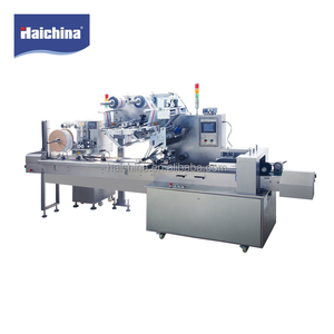 Stainless Steel Pillow Auto Packing Machine For Food/Flow Blister Wrapping Machine