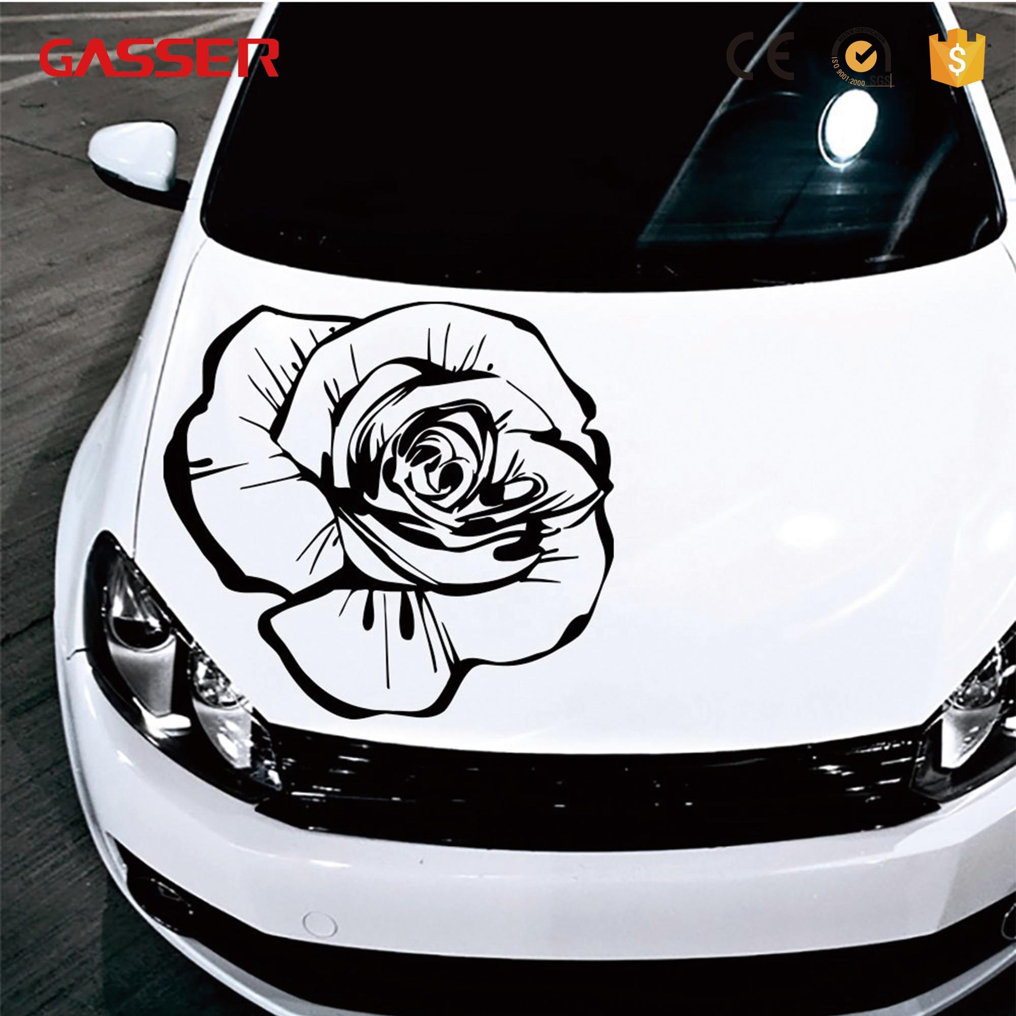 Cheap promotional car body sticker custom design vinyl car sticker