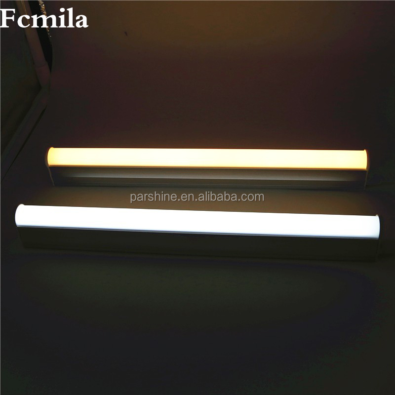 T5 Led Tube Light 220v 300mm 600mm 5W 9W 10W Wall Lamps 2ft LED T5 Tube Fluorescent Lamp Lights with free accessories