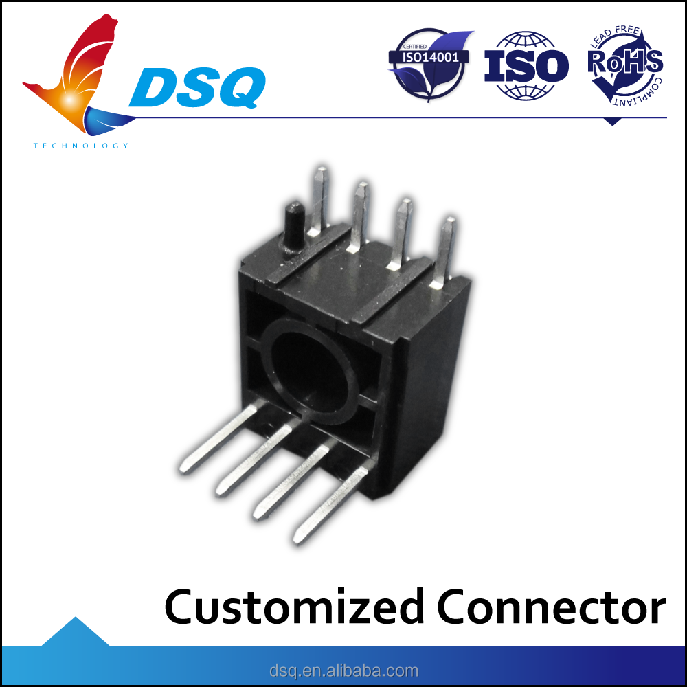 Great Quality Long 4 Pin Electronic Header