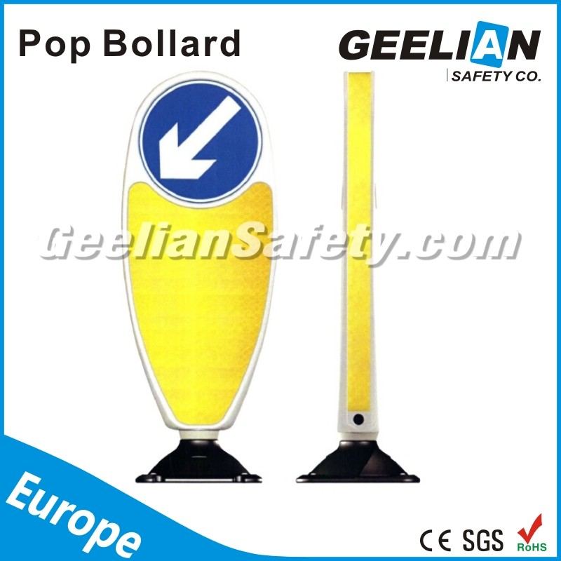 South Africa Traffic safety products lane separator Highly reflective delineator guide post removable bollards lane separator