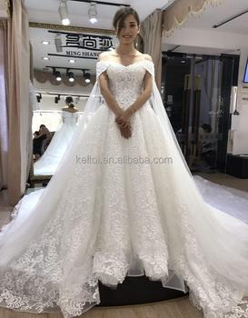 2017 Luxury Alibaba Lace Wedding Dress Ball Gown Chapel Train Buy From China Buy Alibaba Wedding Dress Wedding Dresses Lace Wedding Dress Product