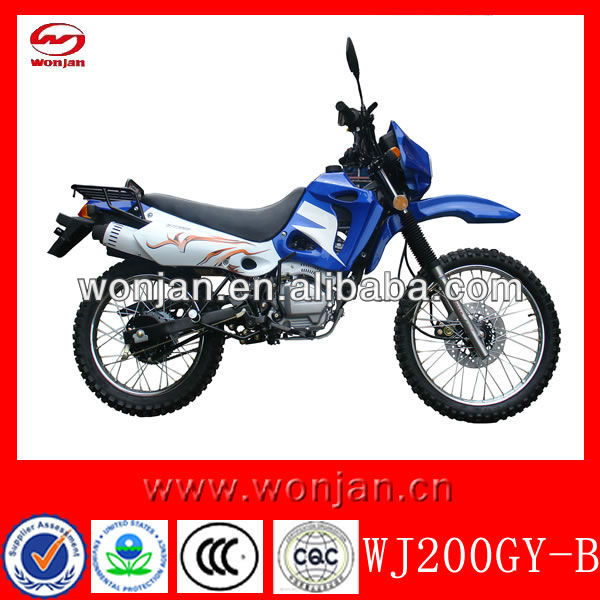 200cc Motos da China/dirt bikes para venda Barato (WJ200GY-B)
