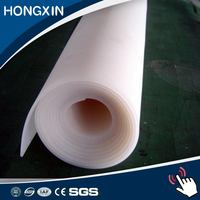high temperature soft food grade 1mm transparent clear silicone rubber sheet