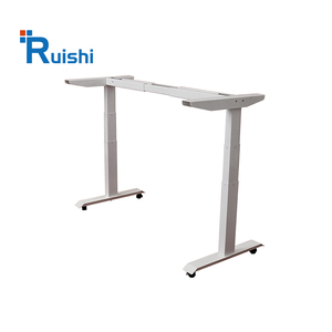Ergonomic stand up electric height adjustable high tech computer desk