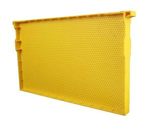 Yellow plastic bee frames/two size bee hive frame for EU hive