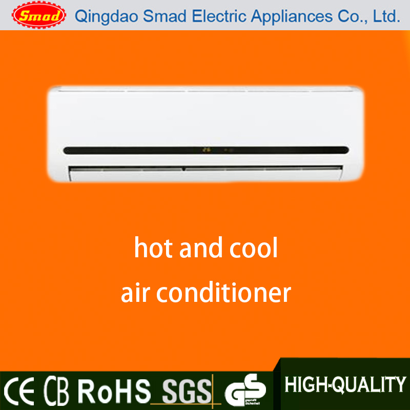 New high quality split hot and cool air conditioner with LED dispaly