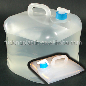 Collapsible Jerry Can Plastic Storage Jug