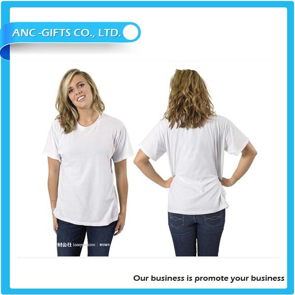 cheap white t-shirts wholesale plain white 100% cotton t shirts for men and women