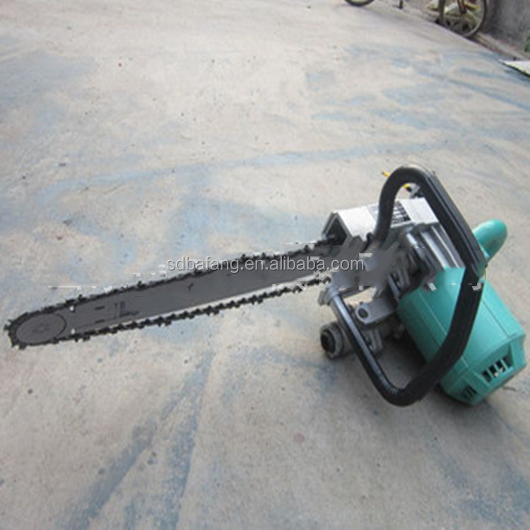 Hot selling gasoline diamond chain saw