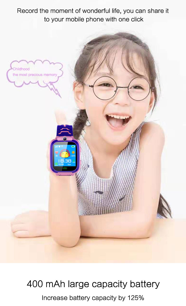 New Product Kid Watch Oem Custom Factory Cheap Wholesale 4G Waterproof Gps Mobile Watch Phones 2020 Best Seller Kids Smart Watch