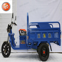 carrying opened cargo electric tricycle /trike three wheels for sale