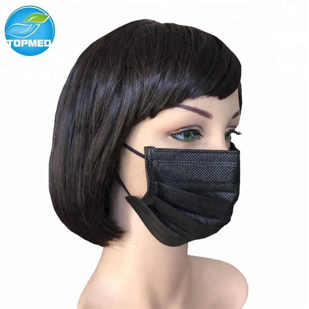 Kit Viagem - Preto Buy Orelha Moda Descartável Laço Máscara Do Da Filtro Bactérias Facial De