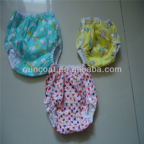 3df3f4519 baby nappies diaper pants/pvc pants for baby/waterproof baby cloth diaper
