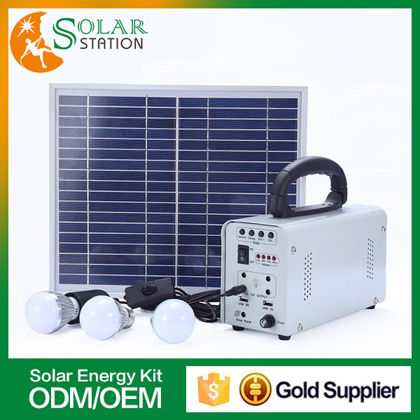 China manufacturer portable off grid panel <strong>energy</strong> powered outdoor led light 10w solar panel 12v kit