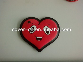 LED Flashlight badge/flash badge as small gift for children