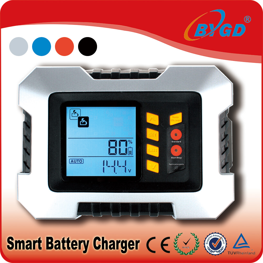 Original design best battery charger car with 2/4/8/12A auto rated current