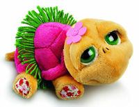 All of our Soft Toys 86042 r21 Shelly Hawaiian Dancer turtle Teddy bear dressed up her best Hawaiian outfit