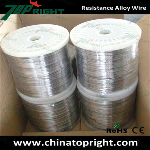 Heat resistance submersible pump winding wire, resistance alloy wire
