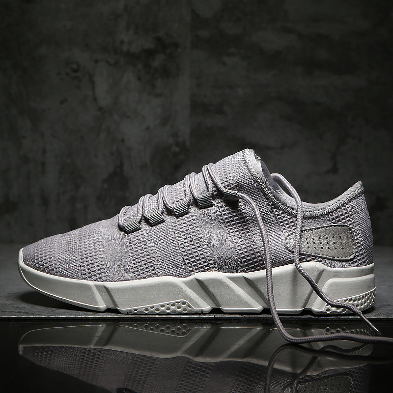 cool white black man's sneaker