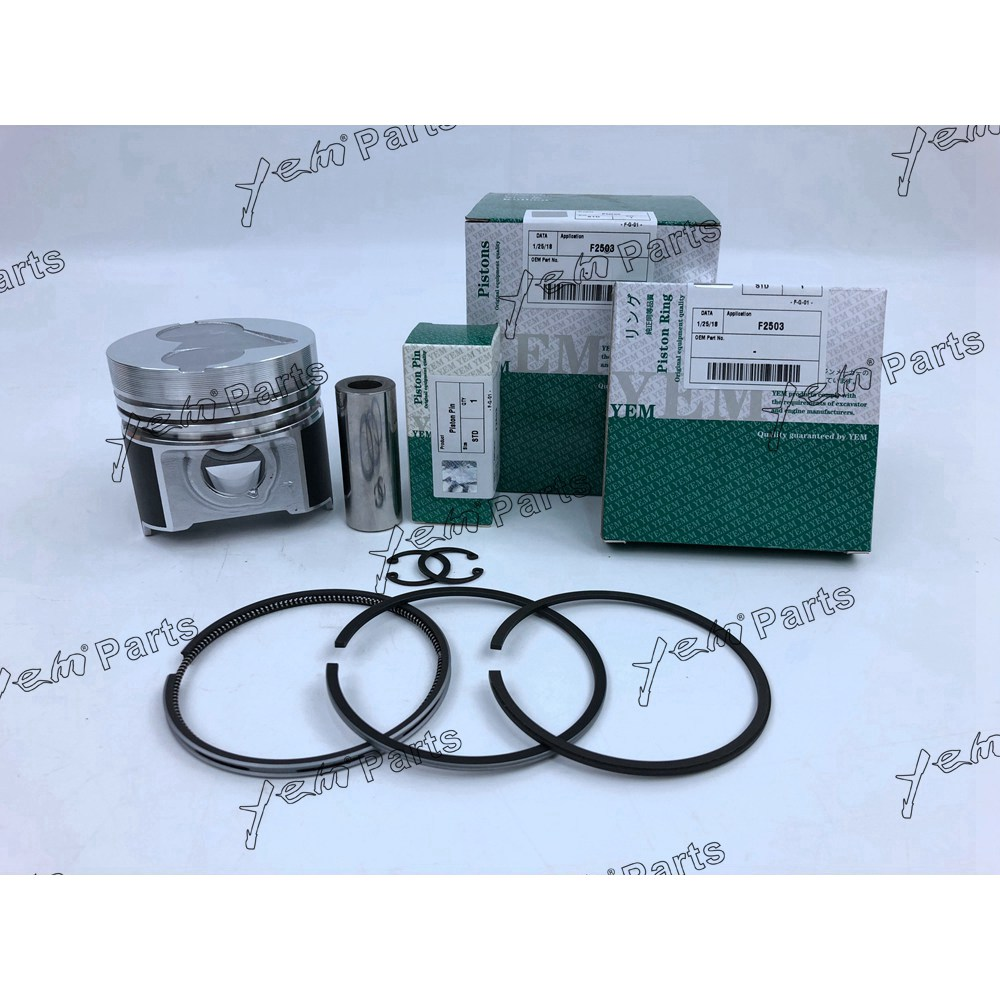 Voor KUBOAT F2503 piston ring kit motorrevisie kit