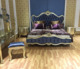 GD-A001 Antique style solid wood carving bedroom set