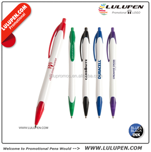 Customized San Dimas WX Ballpoint Pen (T126333) Promotional Plastic Click Pens