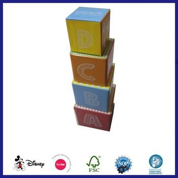 Christmas Cardboard Block Stacking Nesting Box - Buy ...