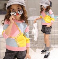 cy10690a new design girl sweater baby pullover sweater