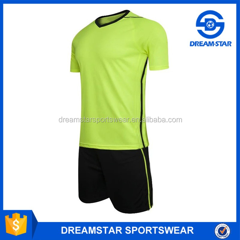 Promotion Latest Design Sportswear Green Soccer Uniform For Sale