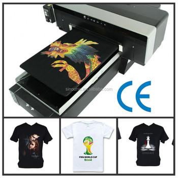 Commercial photo printers dgt t shirt painting machine for Commercial shirt printing machine