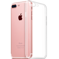 Ultra Thin Soft TPU Original Transparent Case For iPhone 6/6S/ 7/7plus Crystal Clear Silicon Back Cover Phone case for xr xs max