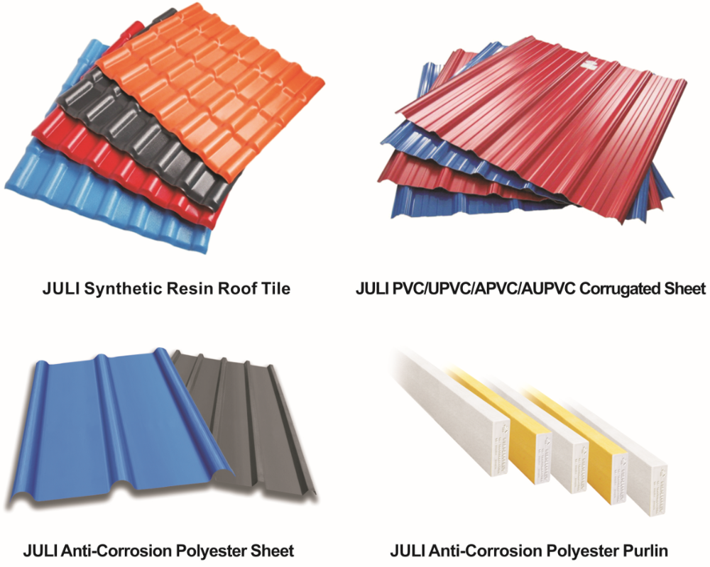 Juli Roof Tile Of Synthetic Resin With Asa Coated Buy