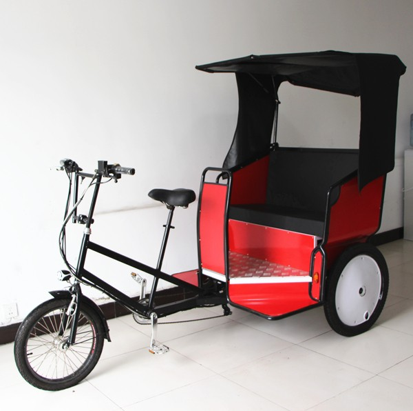 adult family wedding taxi triciclo rickshaw
